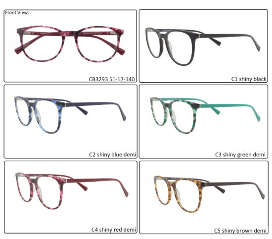 High Quality Elegant Eye Glass Metal Reading Glasses with Spring Hinge for Wholesaler