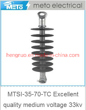 Mtsi-35-70-Tc Excellent Quality Medium Voltage 33kv 35kv Insulator