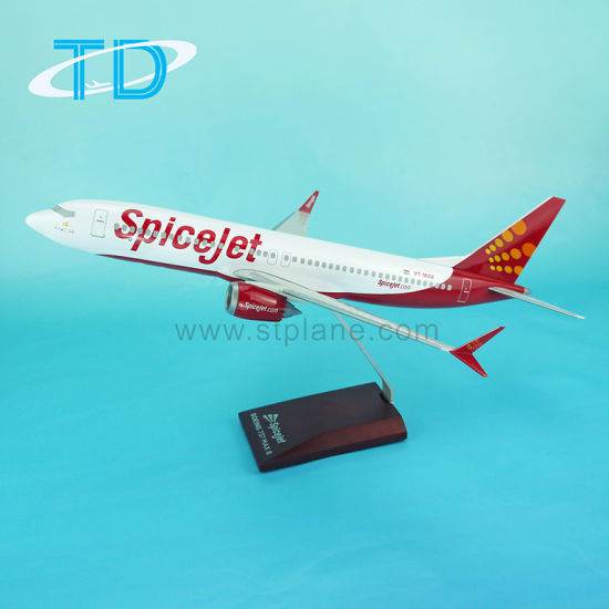 Spicejet B737 Max 8 Resin Craft Models pictures & photos