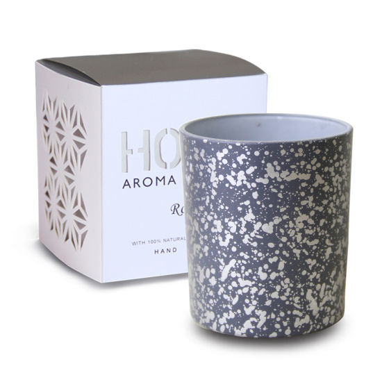 Art Design OEM Wholesale Fragrance Wedding Candle Natural Scented 280g Soy Candle with 3% Fragrance.