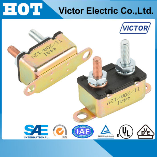 Ningbo Victor E5 Series Circuit Breaker for EV, Battery Protector E513 pictures & photos