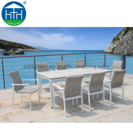China Wholesale Discount Top Quality Outdoor Garden Teslin Mesh Patio Set Furniture