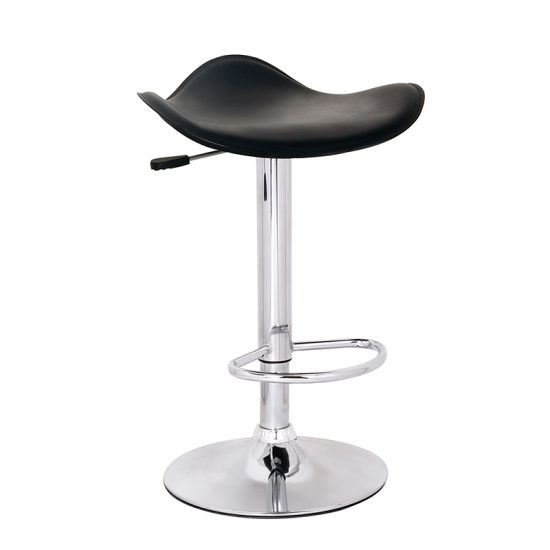 Europe Morden PU Fashion Metal Bar Stool Without Back Commercial Use Furniture