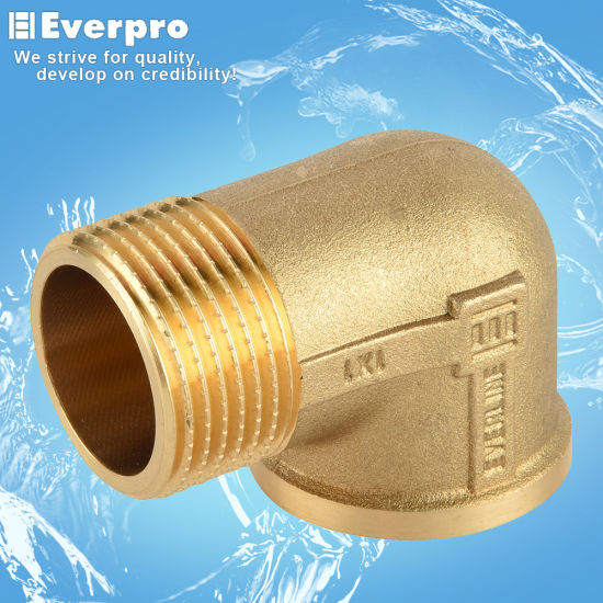 Brass Forged Elbow/Brass Pipe Fitting, Tube Joint Fitting (EFC-CMF38)