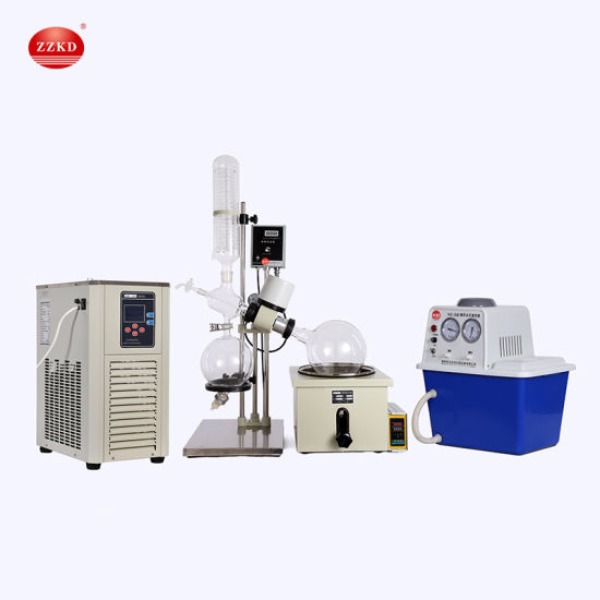 5L Lab Distiller Vacuum Rotovap/Rotavapor Instrument Rotary Evaporator