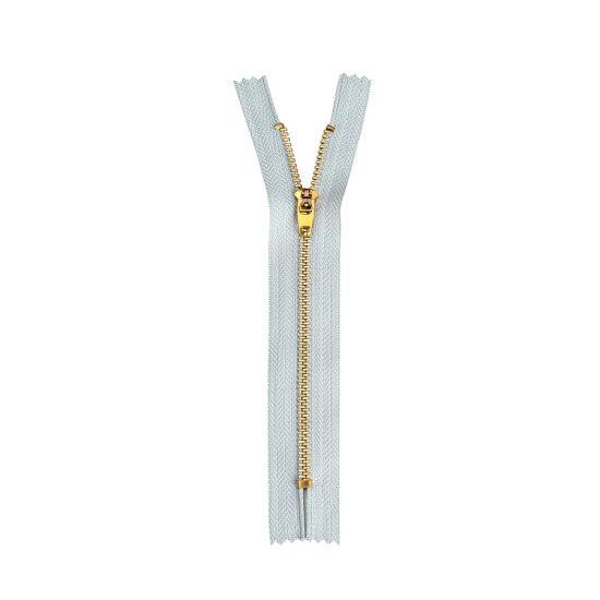 Hot Sale Metal Brass Zipper with High Quality Zipper