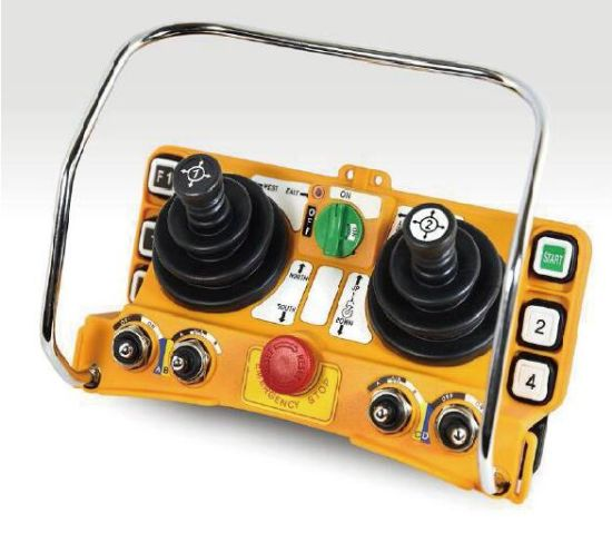 Industrial Remote Control Telecrane of Taiwan F24-60 Double Joystick pictures & photos