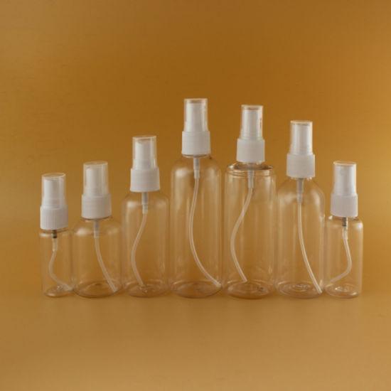 BPA Free Pet PE 150ml Plastic Fine Mist Spray Bottle