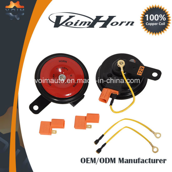 Novel Design Disc Car Speaker Horn for Honda 12V