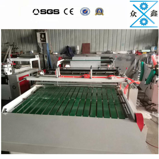A4 A3 Paper Roll to Sheet Cutting and Slitting Machine