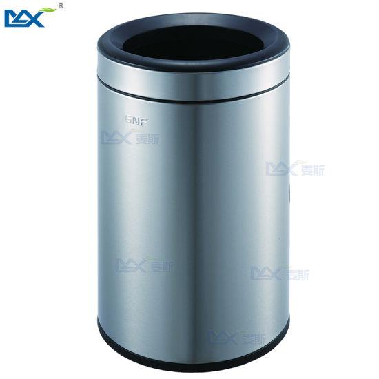 China 2019 Guangzhou Max Round Rose Gold Kitchen Trash Can China Room Trash Can And Kitchen Trash Can Price