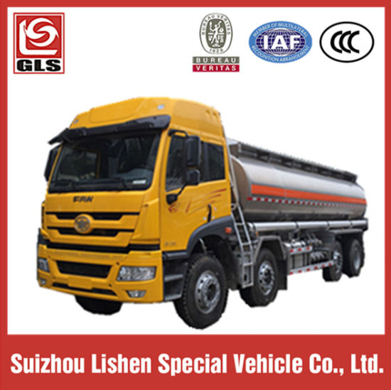 Aluminum Alloy Oil Tanker with FAW Tractor Truck pictures & photos