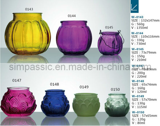 Colored Candle Holder / Tealight Holder (small size)