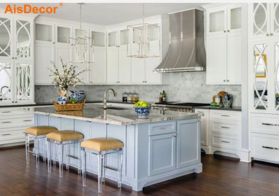 Canada Market Popular Classic French Style Luxury Kitchen Cabinets With Antique Metal Handle Design China Kitchen Cabinets Kitchen Cabinet Made In China Com