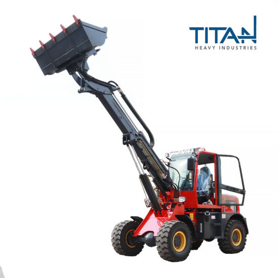 1.6 ton telescopic loader with four-cycle diesel engine