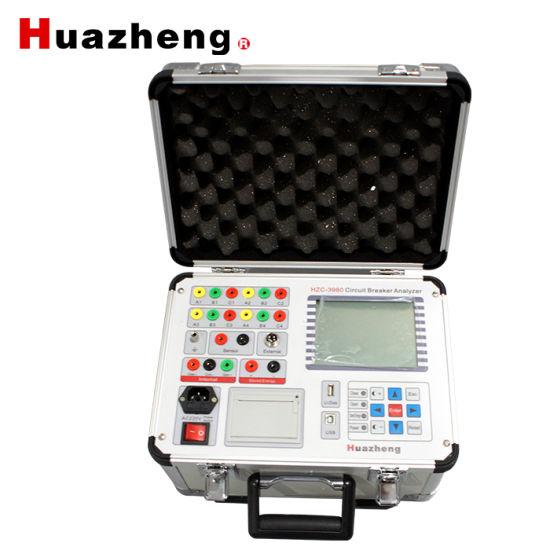 Intelligent High Voltage Digital Circuit Breaker Mechanical Properties Tester Analyzer
