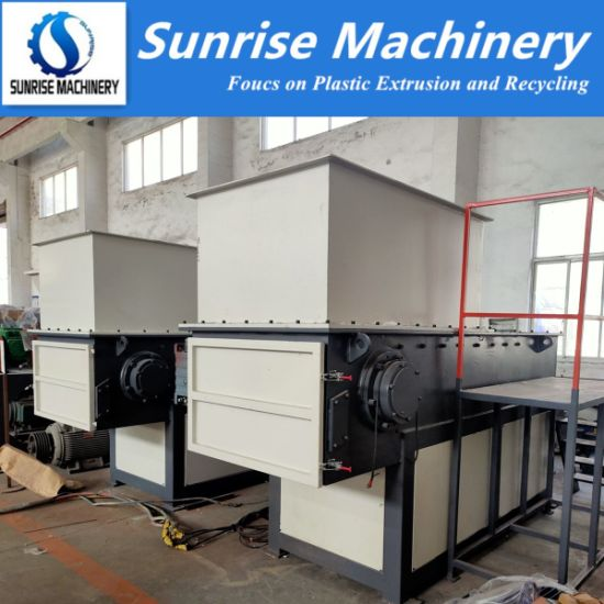 PP ABS PVC HDPE Plastic Pipe Crusher Recycling Shredder Grinder