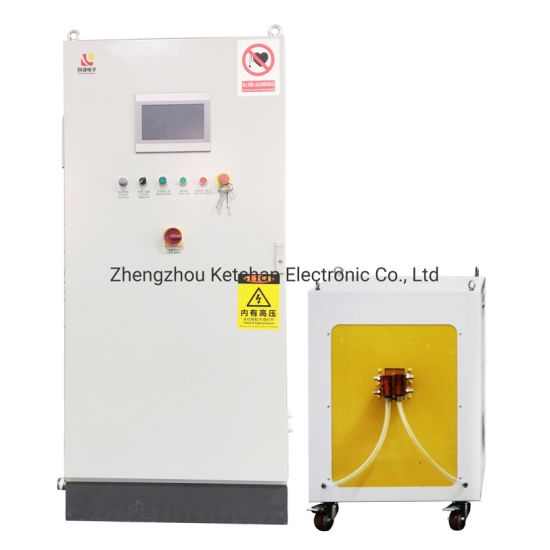 IGBT Automatic High Frequency Induction Heating Machine for Bushing Inner Hole Quenching Hardening Heat Treatment