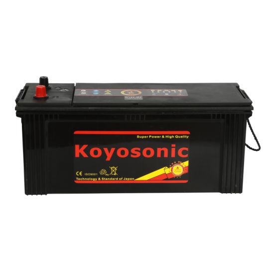 Sealed Maintenance Free 12V 120ah Truck Battery N120 Battery