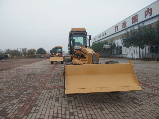 180HP Hydraulic Motor Grader Road Grader with Front Dozer and Ripper Py9180 pictures & photos