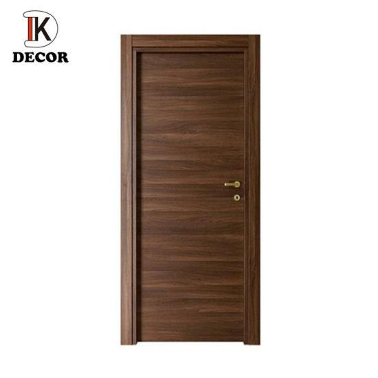Modern Black Walnut Solid Wood Door Design Swing Wooden Interior Room Door China Wood Door Solid Core Wood Flush Doors Made In China Com