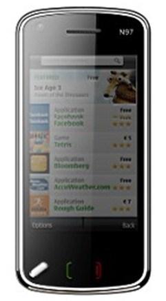 Digital TV Mobile Phone (N97)