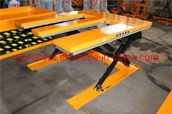 E-Shape Handing Equipment 1.5 Tons Hydraulic Electric Lifting Table