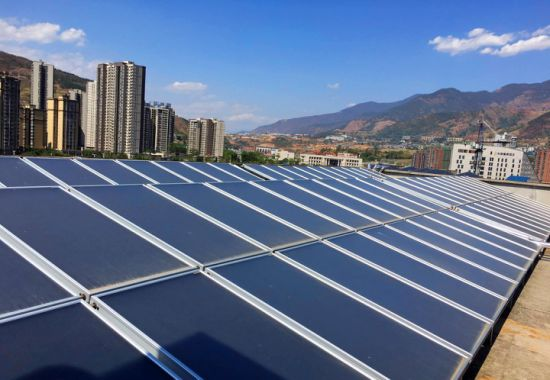 Flat Plate Solar Collector, with Aluminium Pipe, Cost-Effective
