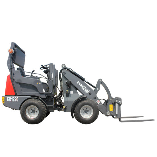 Reliable Producer Everun Supply Er1220 New Design 1.2ton Small Compact Wheel Loader