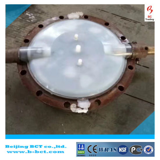 Wafer PTFE Soft Seal Motor EPDM Gear Butterfly Valve Bct-F4bfv-8 pictures & photos