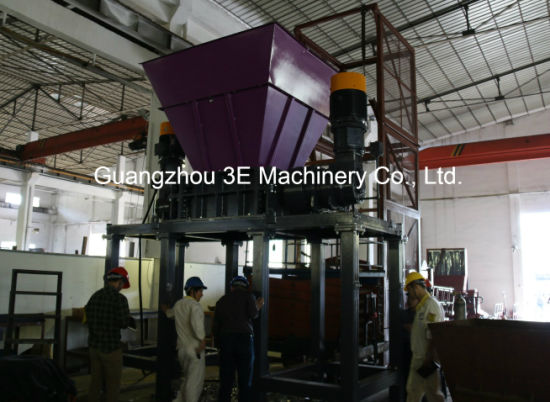 Metal Shredder/Plastic Crusher/Tire Shredder of Recycling Machine/ Gl40100 pictures & photos