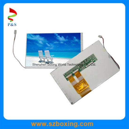 China 7 Inch TFT LCD Display with High Contrast Ratio