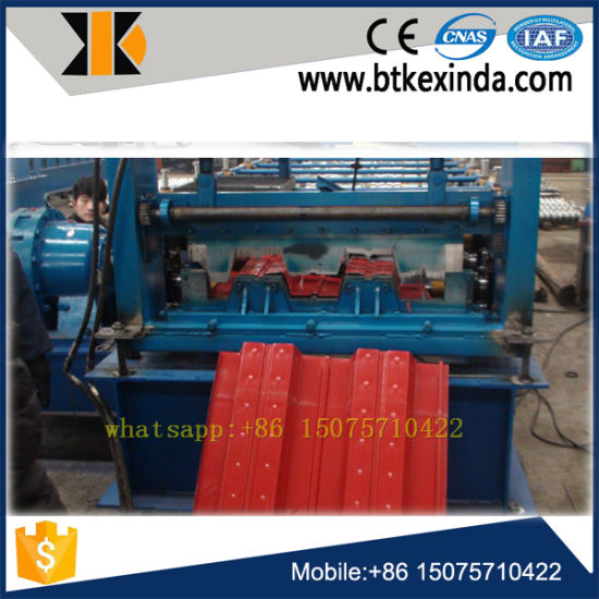 Metal Floor Deck Roll Forming Machine pictures & photos