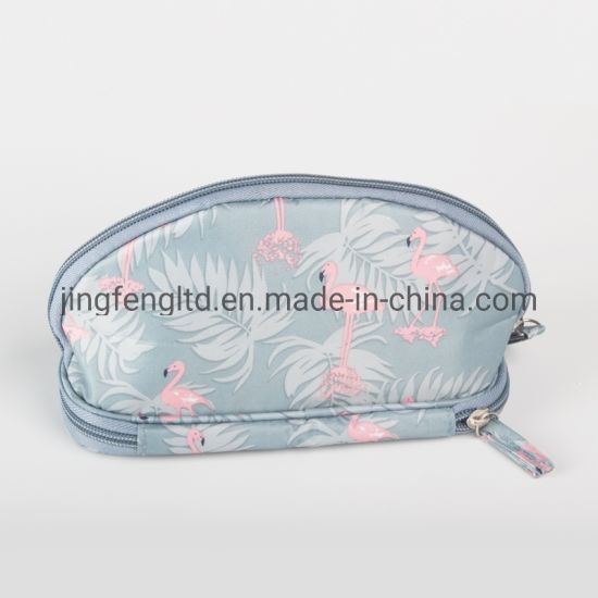 Wholesale Waterproof Oxford Polyester Fabric with Digital Printed Cosmetic Bag