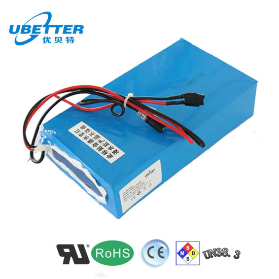 18650 24V 2200mAh Certificated E-Bike Lithium Ion Battery