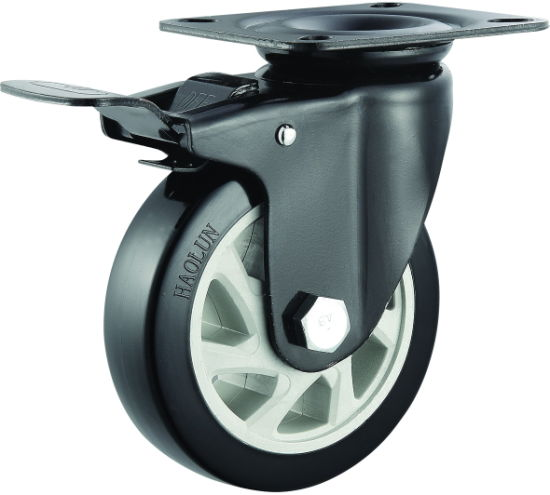 5′′ PVC Swivel Caster for Hand Truck pictures & photos
