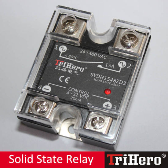 100A DC/AC 1 Phase Solid State Relay SSR pictures & photos