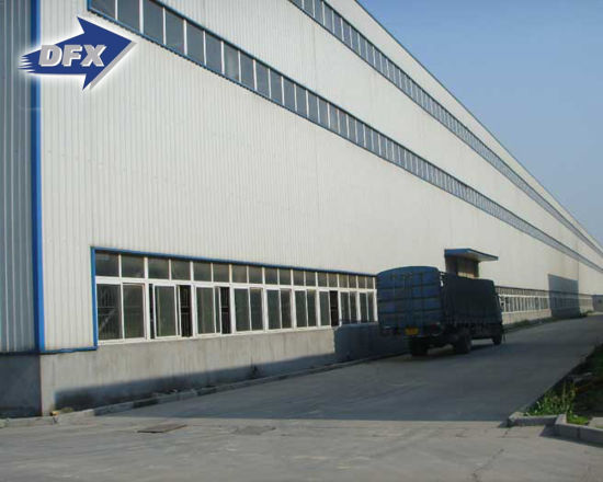 Customized Professional Design Prefab Steel Portal Frame Industrial  Warehouse