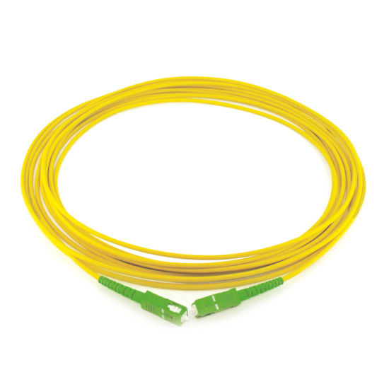 Sc/APC-Sc/ APC 0.9/2.0/3.0mm Sm Dx Fiber Optic Patchcord pictures & photos