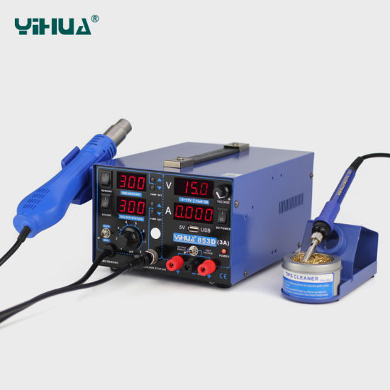 Yihua 853D 3A USB Soldering Station pictures & photos