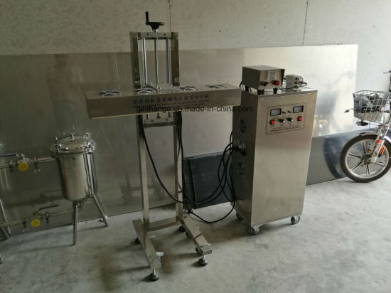 Automatic Cosmetics Foods Bottles Jars Aluminum Foils Sealing Machine pictures & photos