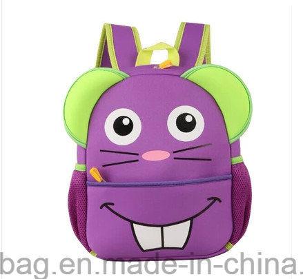 Animal Shapes Kids Neoprene School Backpack for Children