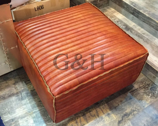 China Supplier Genuine Leather U Shaped Sectional Sofa pictures & photos