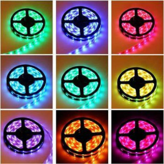 RGB Multicolor Flexible LED Strip Light pictures & photos