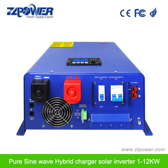 Pure Sine Wave Offgrid Solar Inverter with MPPT Scc 4000W-6000W pictures & photos