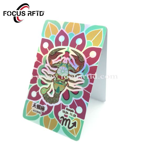 Customized Logo Printing Transparent PVC Gift Card for Promotion pictures & photos