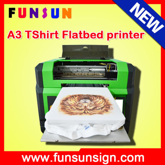 f641799bd New Model A3 Dx5 Head Digital T-Shirt DTG Printers for Sale pictures &  photos