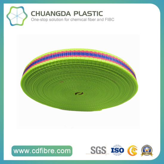 High Quality High Tensile PP Webbing for Bag and Luggage
