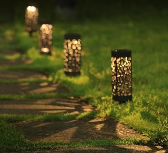 Solar Lights Outdoor Pathway Light