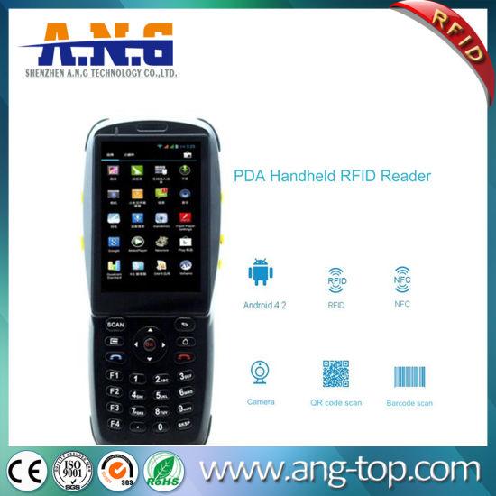 China Handheld Pad Android RFID Reader/NFC/Bluetooth/Barcode